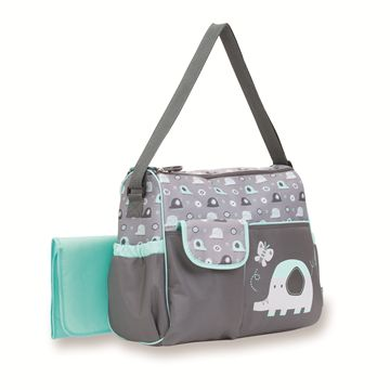 Elephant Duffle Diaper Bag