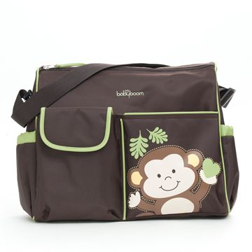 Monkey Duffle Diaper Bag
