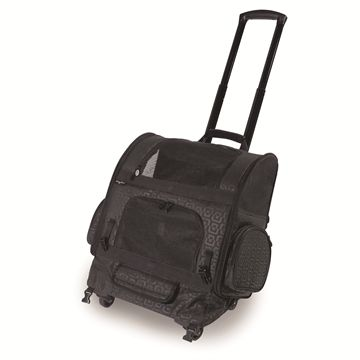 RC1000 Roller-Carrier™ Pet Carrier - Black Geometric