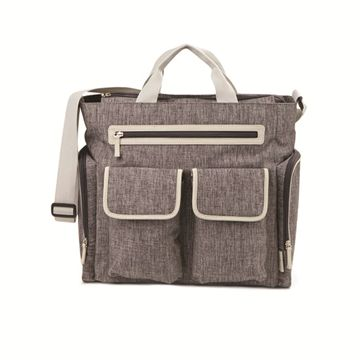 Places and Spaces Satchel Diaper Bag
