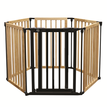 3-in-1 Wood & Metal Gate Superyard